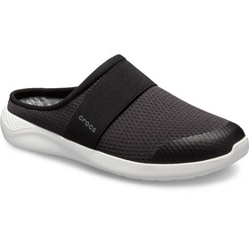 Crocs LiteRide Verkko Mule Miehet, black/white